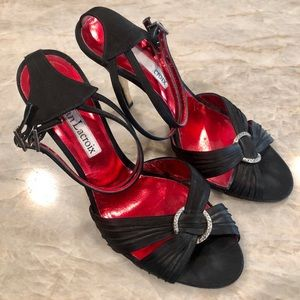 Super Classy Barely Worn Christian Lacroix Heels
